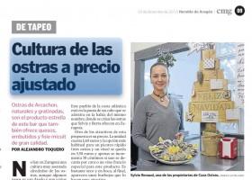 'Caza Ostras' en Heraldo de Aragón