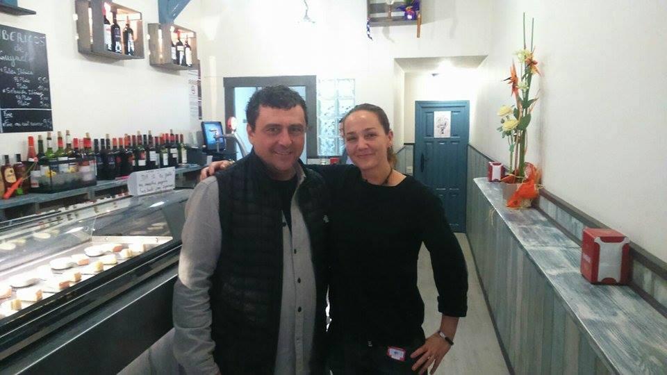 Paco Tous en Caza Ostras Bar de Tapas en Zaragoza